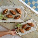 micro croissant, micro croissants, mini croissant, mini croissants, petits croissants, petits pains, salad bread, buns, salad rolls, french rolls, tourtière, croissant farci à la tourtière, idée recette noël, recette facile, recette tourtière, idée recette noël, brunch, recette brunch, déjeuner, breakfast, diy, la petite bretonne