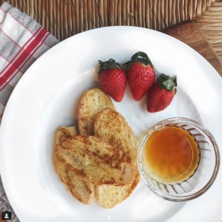 pain doré, french toast, Micro Croissants®, croissant, croissants, dejeuner, breakfast, petite bretonne
