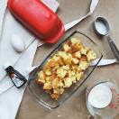 madeleine, madeleines, pain perdu, bread pudding, petite bretonne